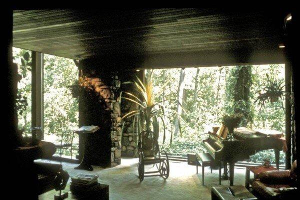Brasler Residence - Living Room - Oct 1967