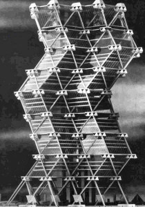 Proposed City Hall Tower, Philadelphia, 1957 Louis I. Kahn and Anne Tynga