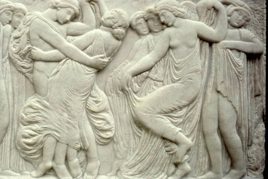 Dancers Bas Relief Musee D'Dorsay