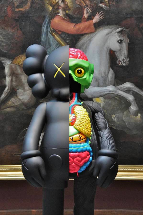 You changed my life forever-kaws