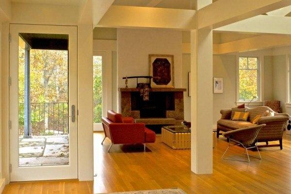 MASER RESIDENCE - MATHA'S VINEYARD - living room - 0095