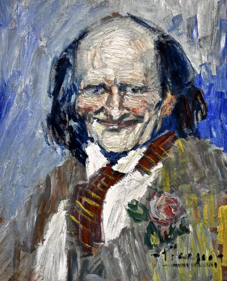 Picasso's 'Bibi la Purée' 0666