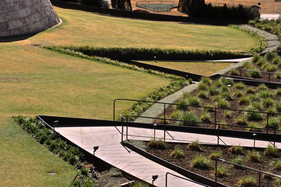 Robert irwin's garden design at the Getty Center in Los Angeles 0529