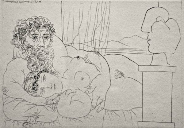 Drawing By Picasso - Language Is