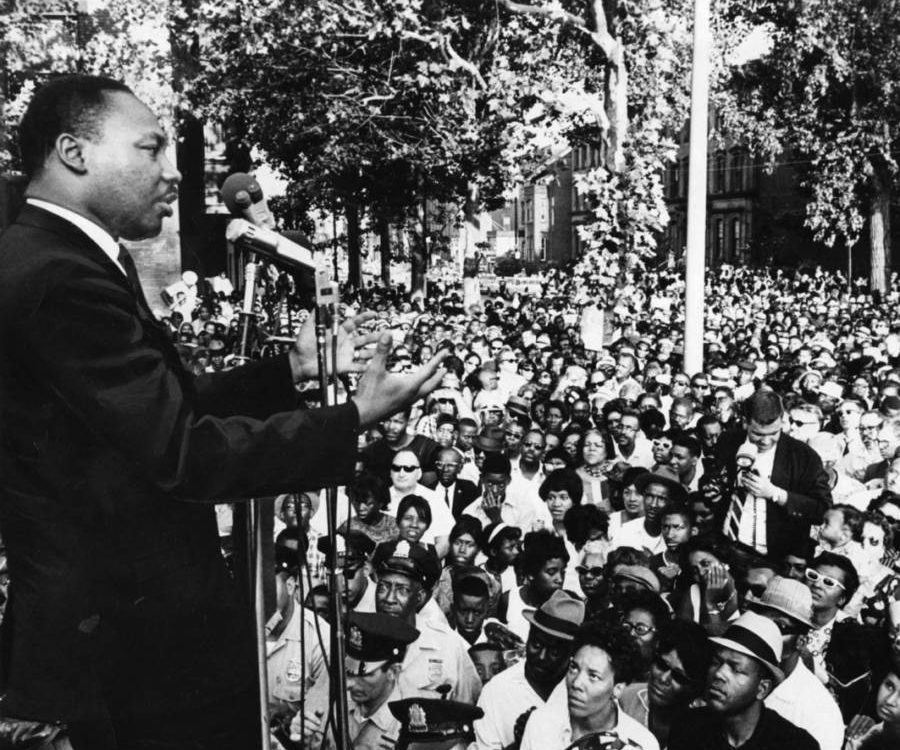 Joel At Mlk Speech At Girard College 1968