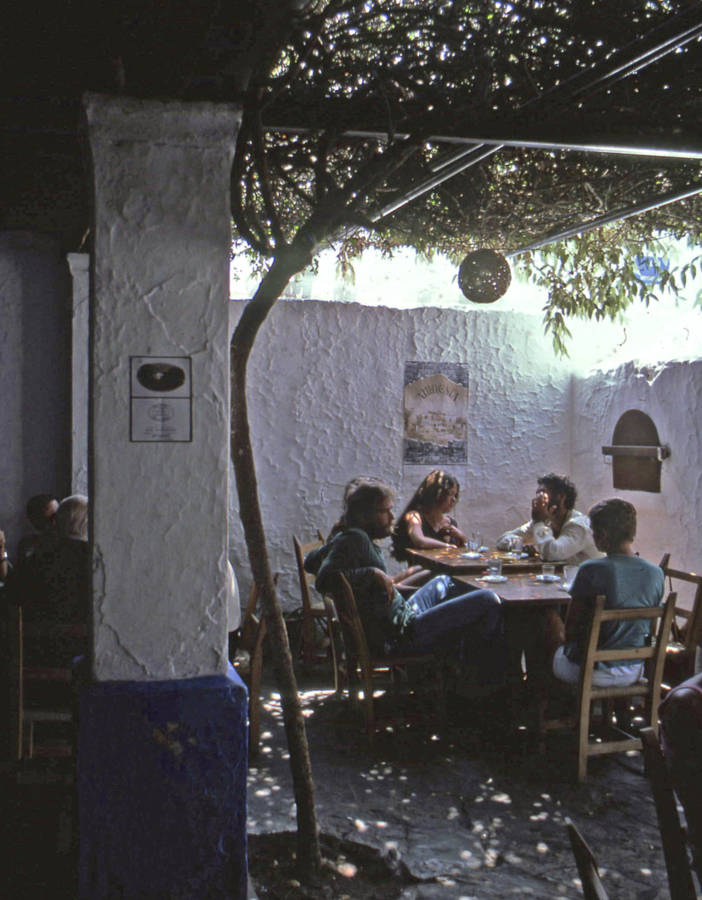 Cafe In Ibiza 1978