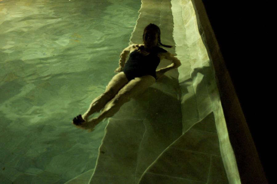Night Pool In Bali 0168