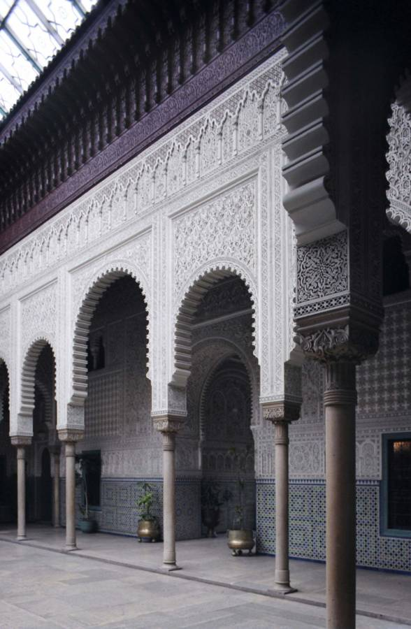 White Arches At The Palace