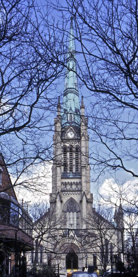 Toronto Church Thru Trees N Version 2
