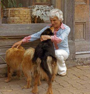 Lydia W 2 Dogs